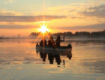 3er Kanadier auf dem Medower See-1